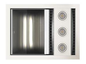 Tastic Neo Single - Bathroom Heater, Exhaust Fan & Light - White