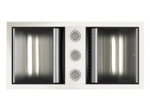 Tastic Neo Dual - Bathroom Heater, Exhaust Fan & Light - White