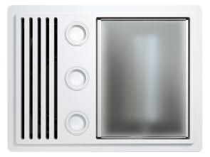 Tastic Ovation - 3 in 1 Bathroom Heater, Exhaust Fan & Light