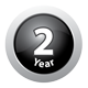 2 Year warranty on heat globes and in-line fan on selected models